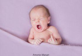 María + Aldo = Iker (Newborn Estudio)
