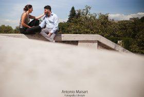 Jardines de Sabatini – Madrid Love Story