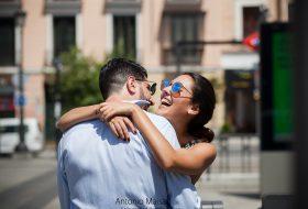 Sesión love story en Madrid