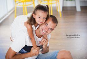 Te quiero papi – Sesión Lifestyle Domicilio