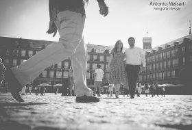 El mundo se paraliza contigo – Sesión en Madrid Centro